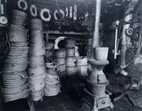rope store; peerless equipment co., 189 south street by berenice abbott
