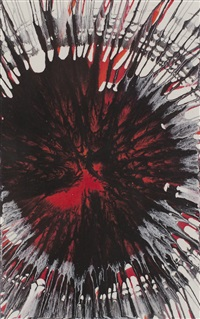 untitled (from war child) by damien hirst