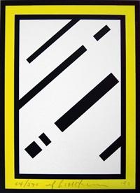 mirror (from harvey gantt portfolio) by roy lichtenstein