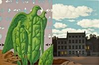 les grands oiseaux sont ceux de l'lle du tresor (from les enfants trouves) by rené magritte