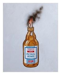 tesco value petrol bomb by banksy