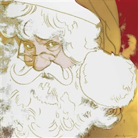 santa claus (from myths) by andy warhol