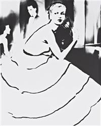 born to dance, margie cato, dress by emily wilkins, new york by lillian bassman