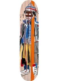 anthony clarke by jean-michel basquiat
