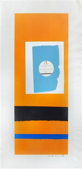 pauillac, #2 (from summer light series) by robert motherwell