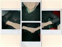 self-portrait montage by lisette model