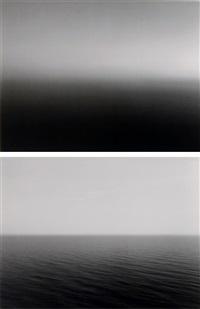 time exposed #324: mediterranean sea, la ciotat (+ time exposed #367: black sea, inebolu ; 2 works) by hiroshi sugimoto