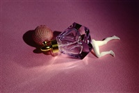 perfume bottle (from lying objects) by laurie simmons