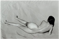 nude (charis on dunes) by edward weston