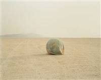 desert croquet no. 1 (deflated earth) by richard misrach