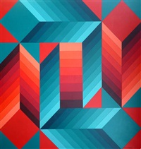 stri-dio-ii by victor vasarely
