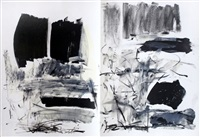untitled (from fresh air school portfolio) by joan mitchell