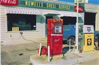 untitled (norwell's service station), mississippi by william eggleston