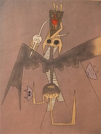 untitled (from dessins) by wifredo lam