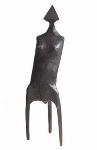 single figure (from three standing figures) by lynn chadwick