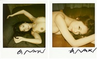 untitled (2 polaroids) by nobuyoshi araki