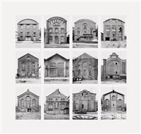 industriehallen (industrial facades) by bernd and hilla becher