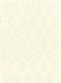 ovals on a grid by sherrie levine