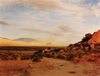view from travertine rock, 1984 by richard misrach