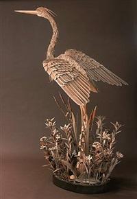 corrugated crane by james grashow