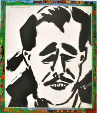 franz kline by red grooms