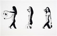 Ariel Black And White Von Alex Katz Auf Artnet