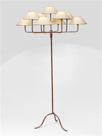 Lampadaire Antibes Tripode A Neuf Lumieres Antibes Tripod Floor Lamp