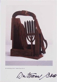 table piece by anthony caro