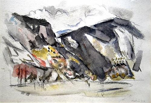 white mountains, new hampshire by john marin