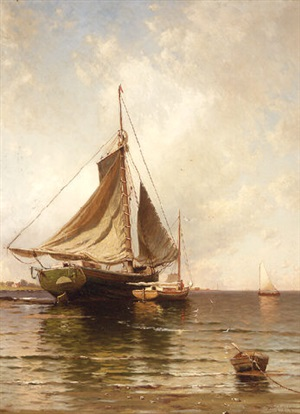 the open coast by alfred thompson bricher