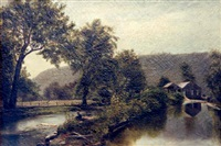 an old canal (ap-24) by american school