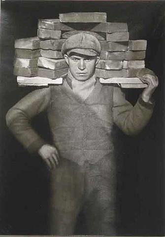hod-carrier, koln-lindenthal, 1928 by august sander