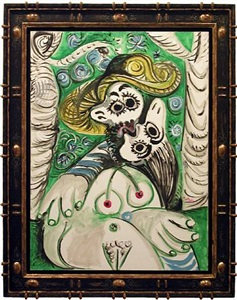 le baiser (the kiss) by pablo picasso