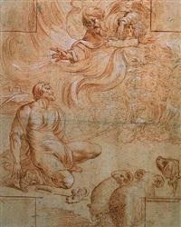 dieu le père apparaissant à abraham by pierre brebiette