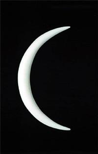 slit moon by james lee byars