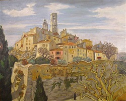 saint paul en hiver by yves brayer