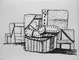 studio forms © gemini g.e.l. and the artist by philip guston
