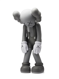 Kaws Passing Through 2007 Black Open Edition Figure Medicom Toy