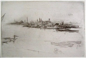 battersea dawn by james abbott mcneill whistler