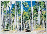 aspen trees 2 by billy sullivan