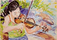 violinist by billy sullivan