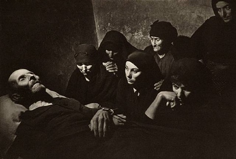 the wake, spanish village by w. eugene smith