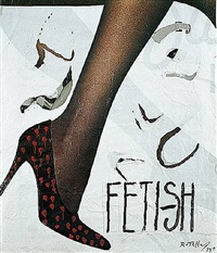 fetish by mimmo rotella