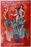 metropolitan opera, carmen by marc chagall