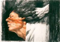 bloody fist by sidney goodman