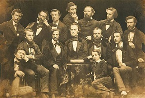 members of the whitehurst photography studio, 1850s<br /> printed: c.1856 by anonymous