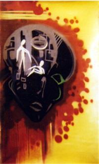 negro painter by dondi white