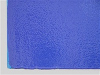 blue painting - detail by joseph marioni