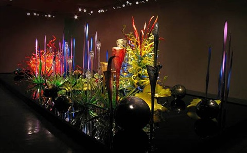 chihuly los angeles at l.a. louver by dale chihuly