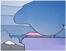 early morning l by peter max
